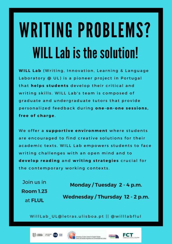 horario WILL Lab